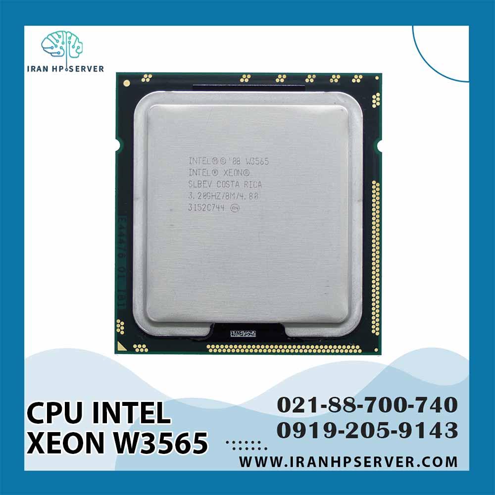 سی پی یو اینتل Xeon W3565