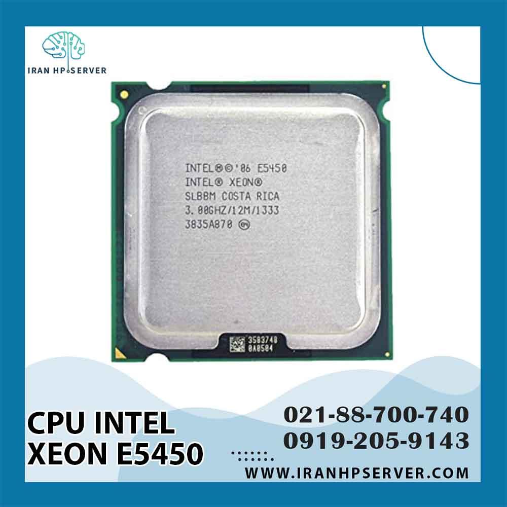 سی پی یو اینتل Xeon E5450