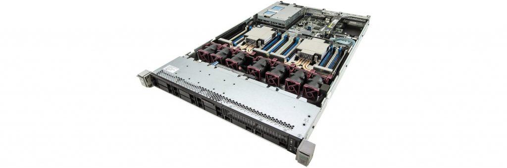 dl360 g9 front 1024x341 - شاسی سرور اچ پی مدل HPE DL360 G9